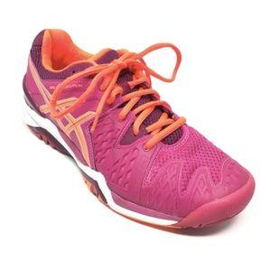 Women's Asics Gel-Resolution 6 Tennis Shoes 7.5M